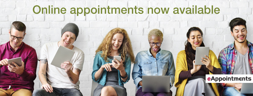 Online appointments anytime anywhere