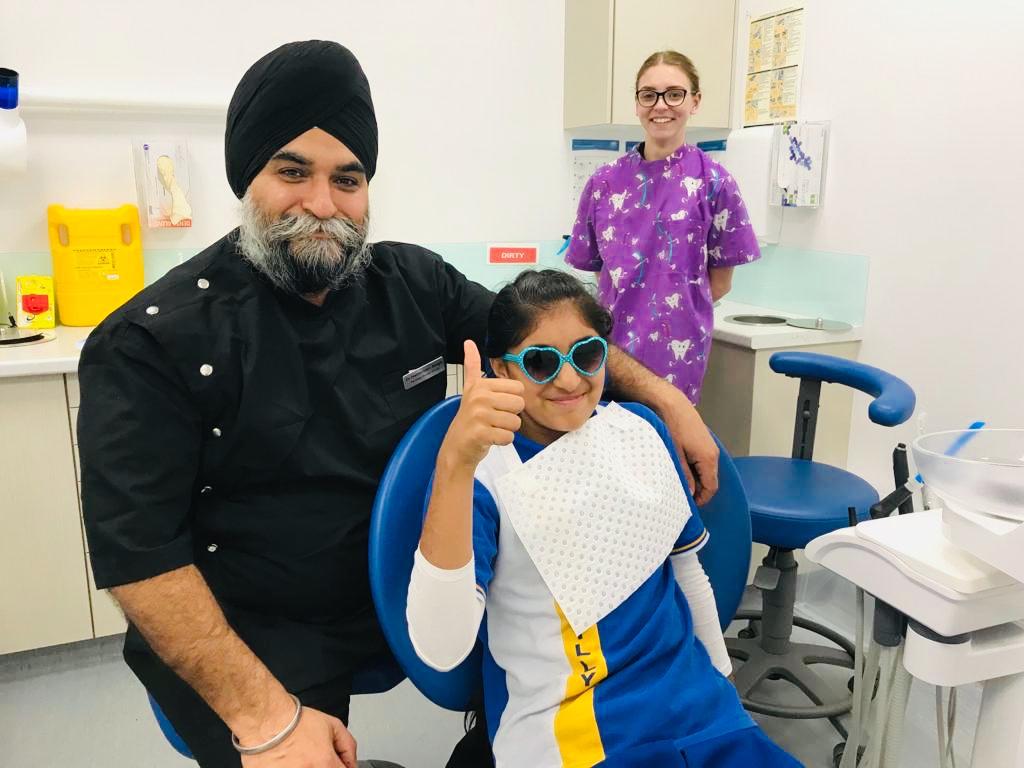 Kids gentle dentist Brisbane